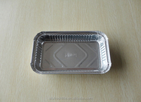high quality food grade small size little height aluminum foil container