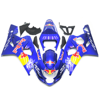 Injection Fairings For Suzuki GSXR600 GSXR750 K4 04 05 ABS Plastic Complete Motorcycle Fairing Kit Cowlings Red Bull Blue