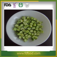 100% Natural and not artificial additive Freeze Dried Cucumber frozen vegetable