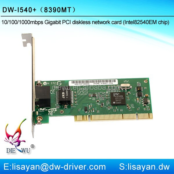 Shenzhen Intel Pro gigabit ethernet pci port network interface cards