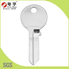 Safety aluminium custom key blanks wholesale,cabinet lock dimple blanks key