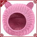 2017 new style waterproof plastic luxury outdoor cat house eco-friendly pet dog sleeping nest