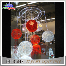 Hot product cheap led ball light outdoor/outdoor led light ball changing color