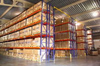Wire Roll Box for Warehouse Pallet Rack Storage