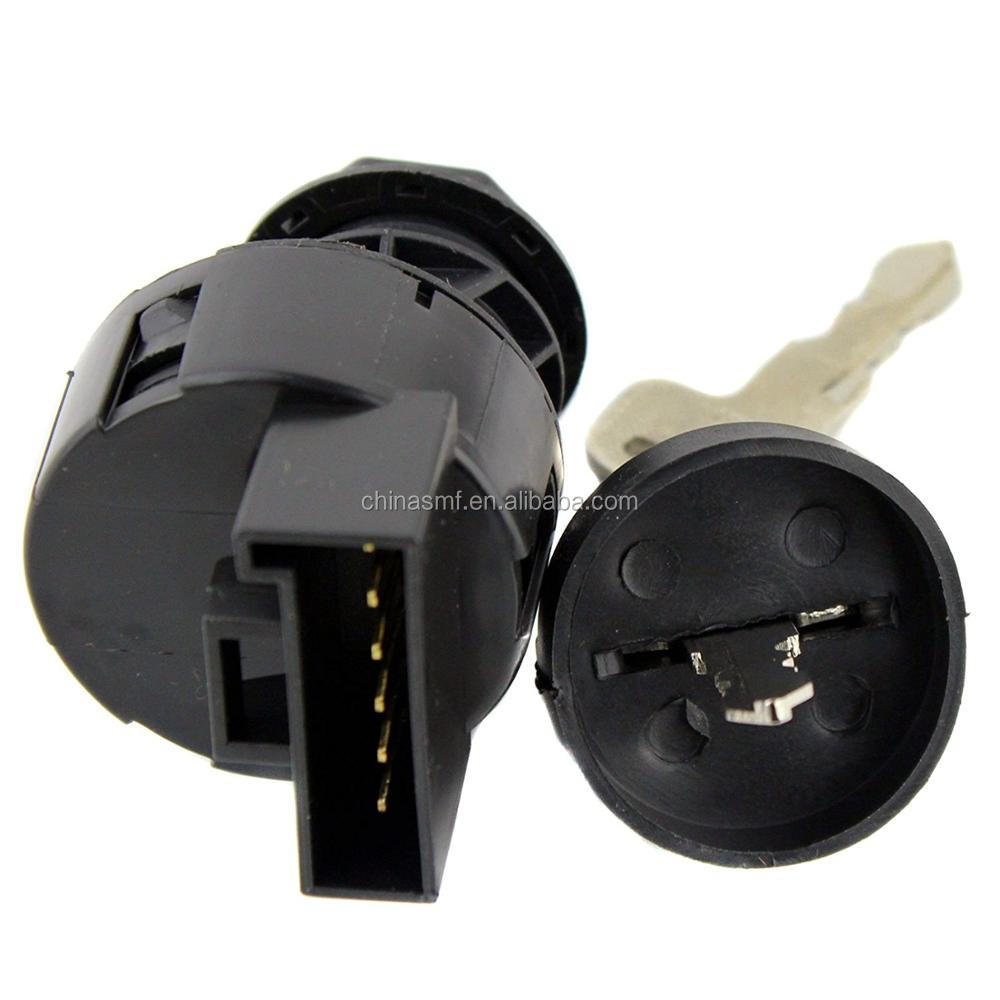 SMF-KL018 IGNITION KEY SWITCH fit for POLARIS SPORTSMAN 500 2002 2003 2004 ATV 6 Pins NEW Ignition key switch