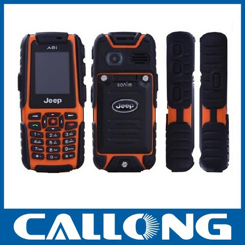 Outdoor phones A8i Dustproof Mobile Phone Dual SIM Cards Shockproof And Dustproof Waterproof GSM 4 band CellPhone