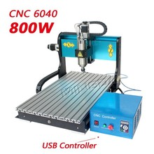 Factory hot sale mini cnc milling machine Mingda 4 axis cnc router engraver machine 6040 800w cnc router wood