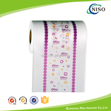 Breathable laminated PE film for baby diaper raw material
