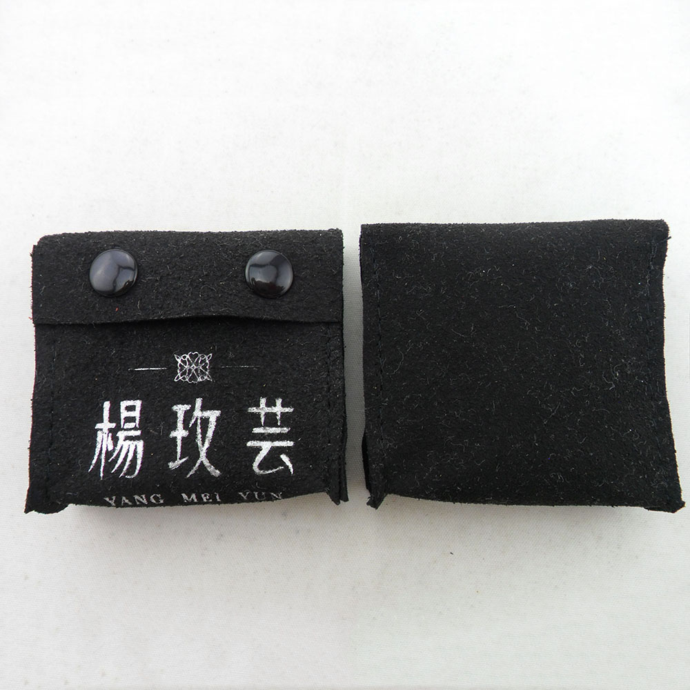 custom small fabric gift pencil velvet jewelry pouches