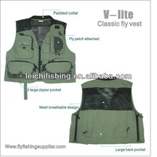 super light blue fly fishing vests