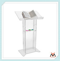 acrylic lectern,acrylic podium,transparent lectern stand