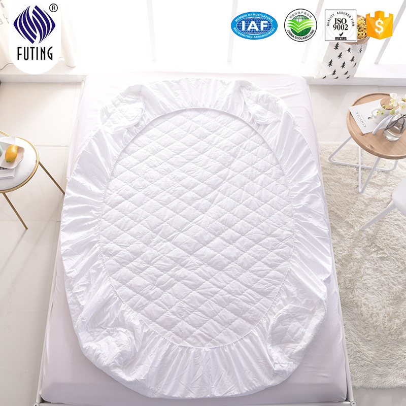 Wholesale good quality solid polyester or cotton quilted mattress cover - Jozy Mattress | Jozy.net