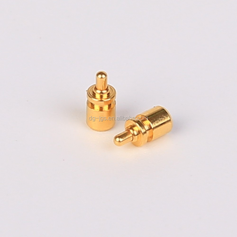 Brass Flat Head Spring Pogo Pin manufacture direct