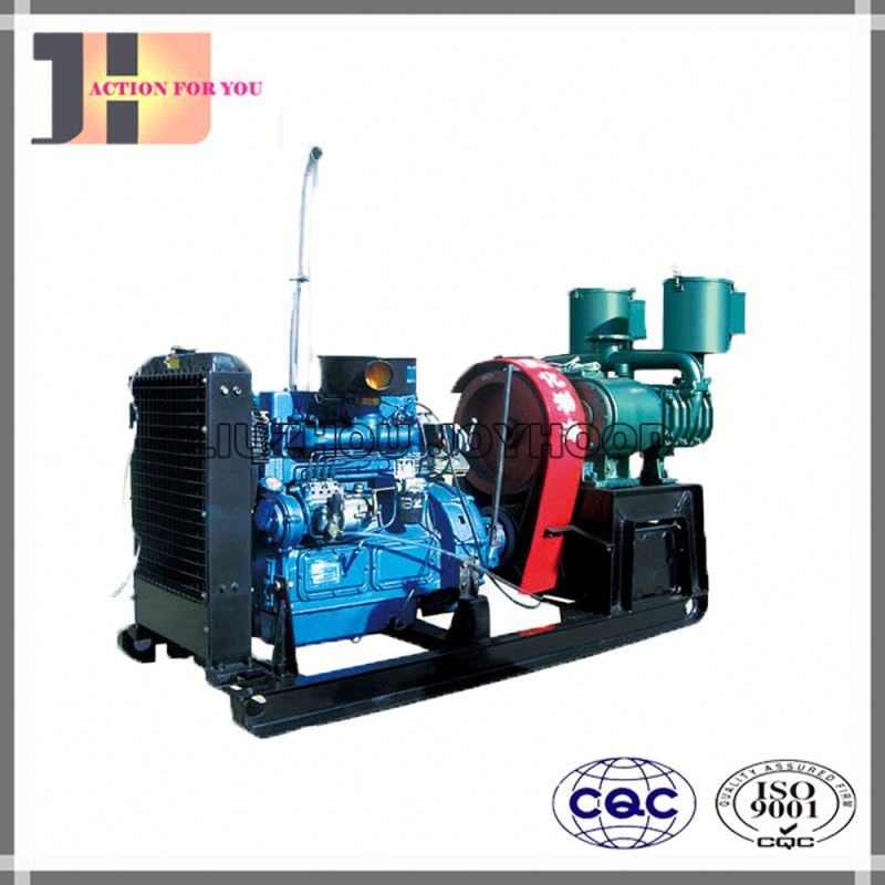 Right mounted bulk cement truck prices portable diesel air compressor