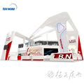 Detian offer large size trade show exhibit stand from Shanghai