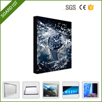 LED acrylic light box, promotion light case funny photo frames