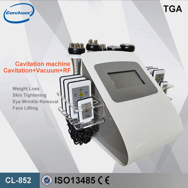 New 650nm laser weight loss salon  use cavitation vacuum system