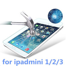 9H Premium Tempered Glass Screen Protector Film For Apple iPad Mini 1 2 3 Retina