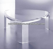 Heart-shaped Acrylic Coffee Table