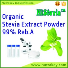 Natural Kosher Halal Organic Certificate Stevia Extract Powder Reb 99