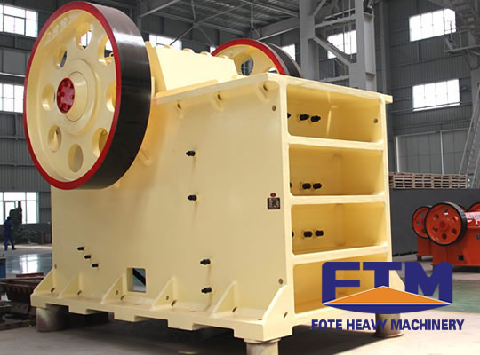 The first brand FTM jaw crusher for sample preparation