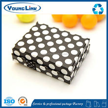 customized printed foldable paper pillow boxes