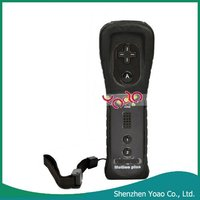 Wholesale !! Remote Controller Built-in Motion Plus For Wii Black