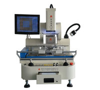Good helper!DS-800A full-auto soldering station bga rework station lcd repair machine with Panasonic PLC control for iphone 5s 6