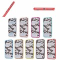 Fashion camouflage TPU +pc CASE for iphone 7 plus