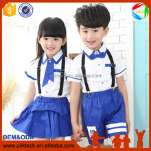 New design child clothes for sister and brother set wholesale 2016 summer kid clothes in baby clothing sets (su209)