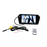 7 Inch Tft Lcd Car Rearview Mirror Monitor