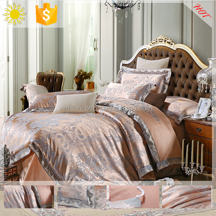 Good for sleeping heart pattern home cotton luxury bedding set