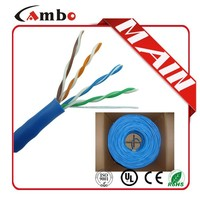 1000ft/305m pe insulation 4 pair 0.48mm solid BC lan cable maker