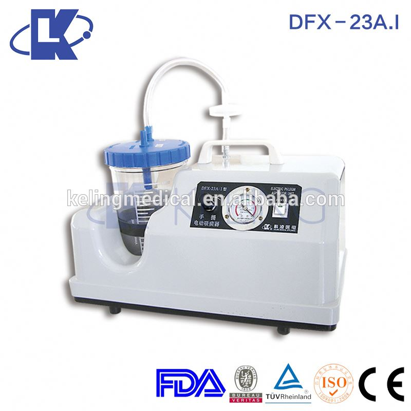 China gold manufacture best price ambulance suction unit with FDA