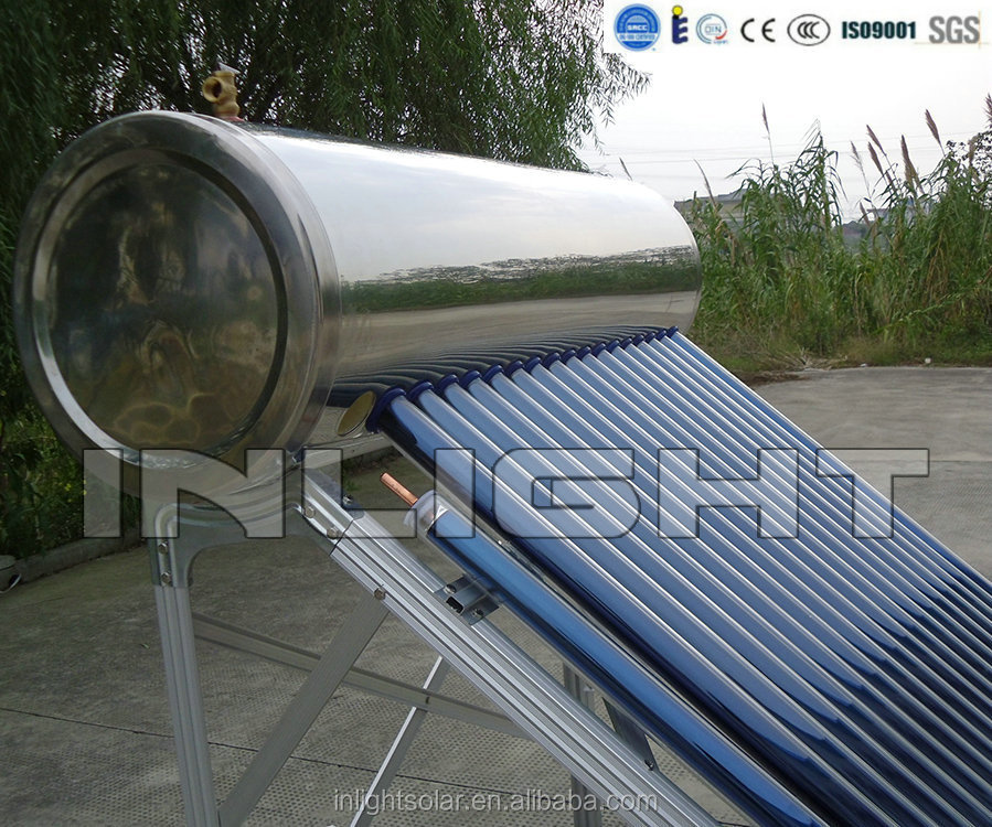 Anti-Frozen Pressurized Heat Pipe Intelligent Solar Thermal Heater(Stainless steel Series)