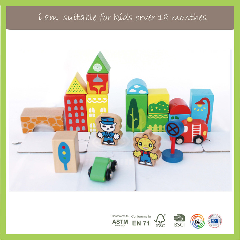 Kids Learning Children Play Toy Building Blocks For Kids