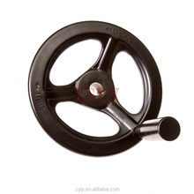 valve handles operated high pressure valve handwheel with a handle