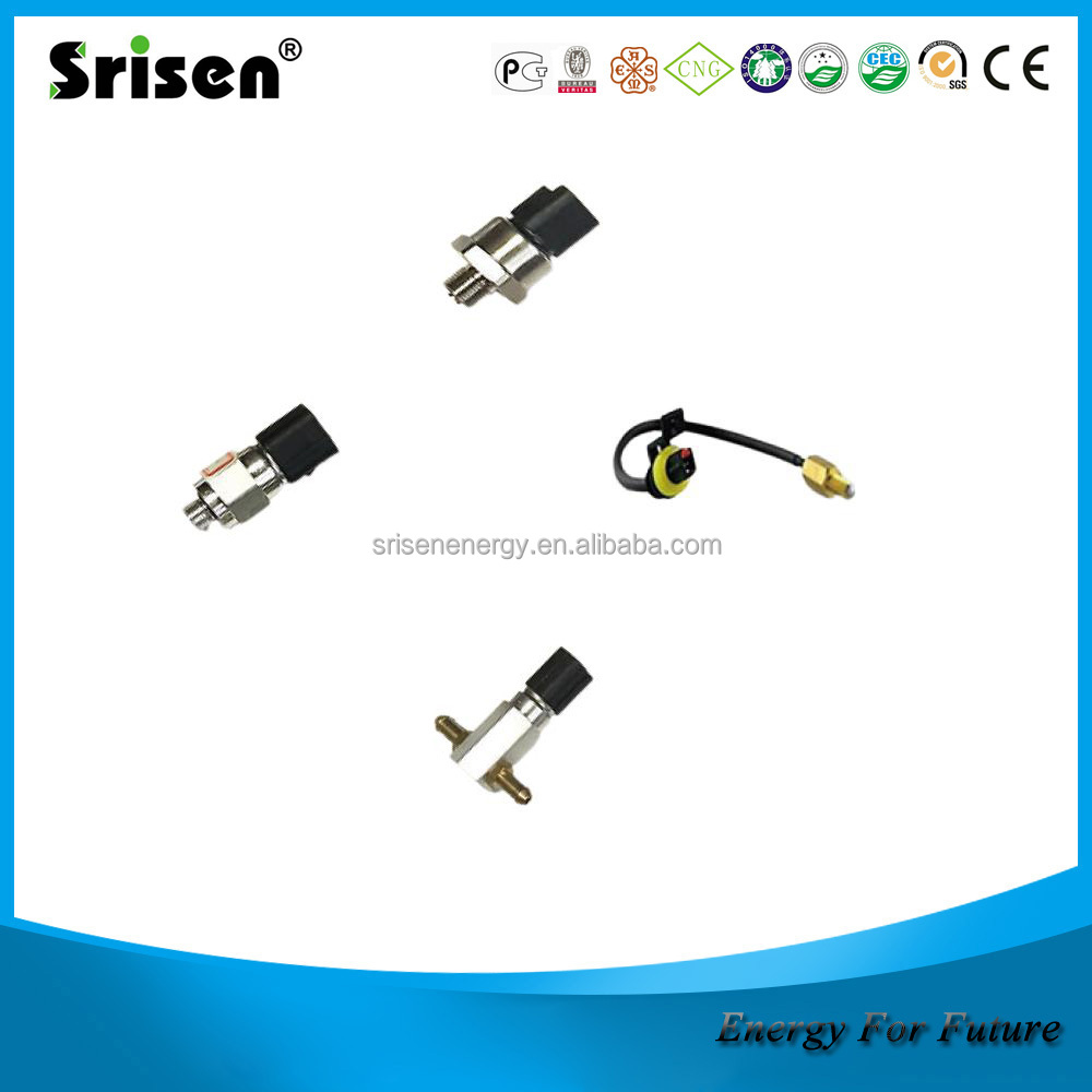 CNG high pressuresolenoid valve and gauge,ECU, regulator, rail injector, cng conversion kits for sales
