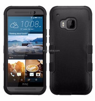 Hybrid Protective Cover Snap On Hard Aramor Case For HTC One M9