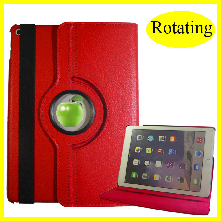 For iPad Smart Case for iPad mini 360 Rotating Leather for ipad air smart Case with Magnetic Competive Price & Quality
