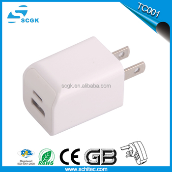 Low price TypeC quick charger multi-output wall charger with high quality TC001