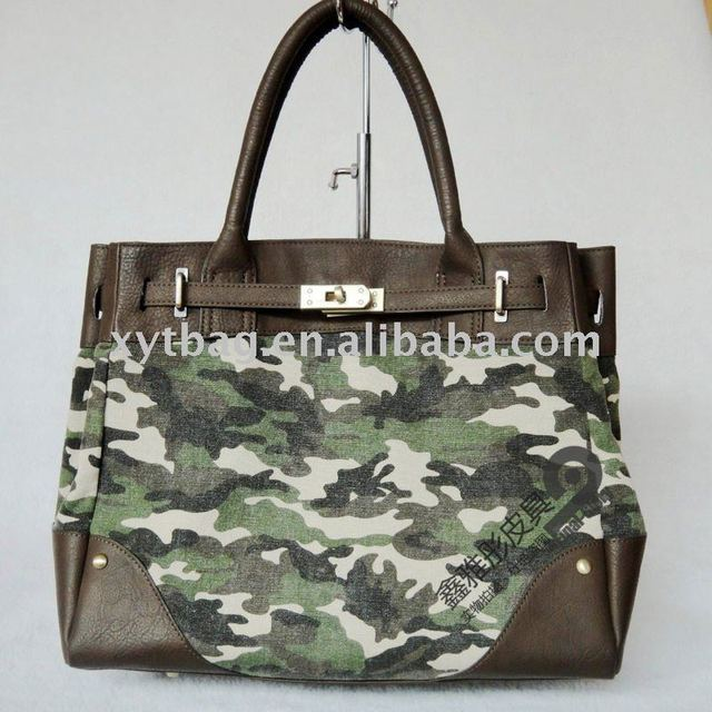 Camouflage elegant women shoulder bag handbag