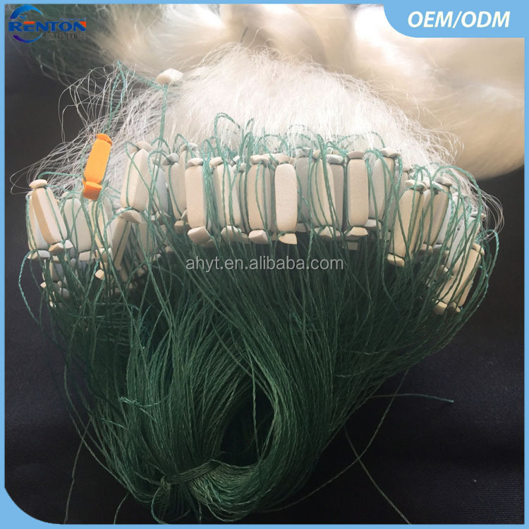 100% Nylon Fully Completed Gill Fishing Net for Sale