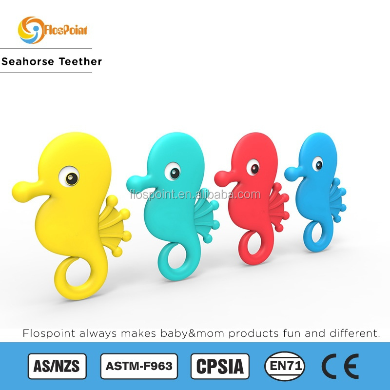 SOPHIE THE Seahorse or Octopus NATURAL RUBBER BABY TEETHER TEETHING TOYS BPA FREE