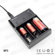 Cheap price Mainfire MF3 18650 universal li-ion battery charger 12v dc
