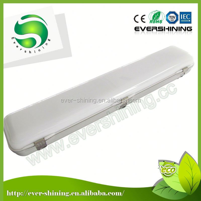 fashion modelling high brightness grp tri-proof cold storage lighting fixture