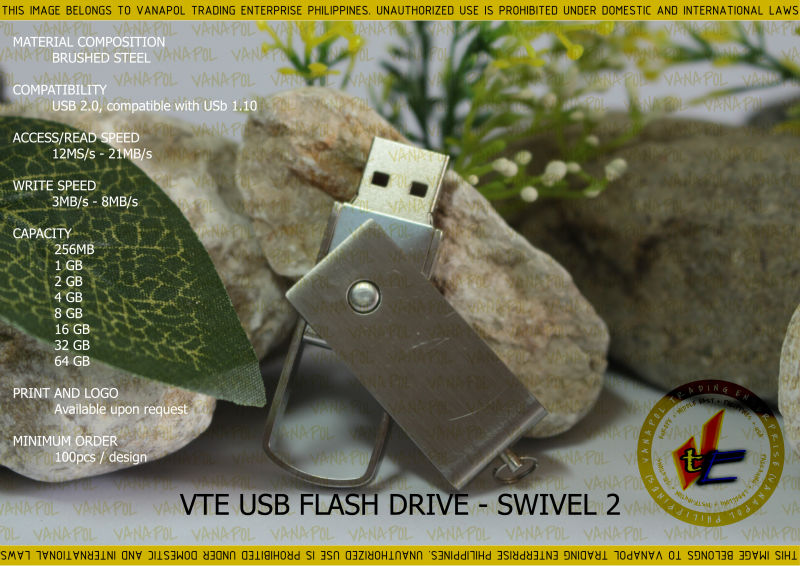 VANAPOL USB FLASH DRIVE SWIVEL2