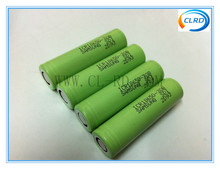 Authentic flat top 3.7v 3000mah samsung li ion battery 18650 rechargeable lithium battery with Best quality