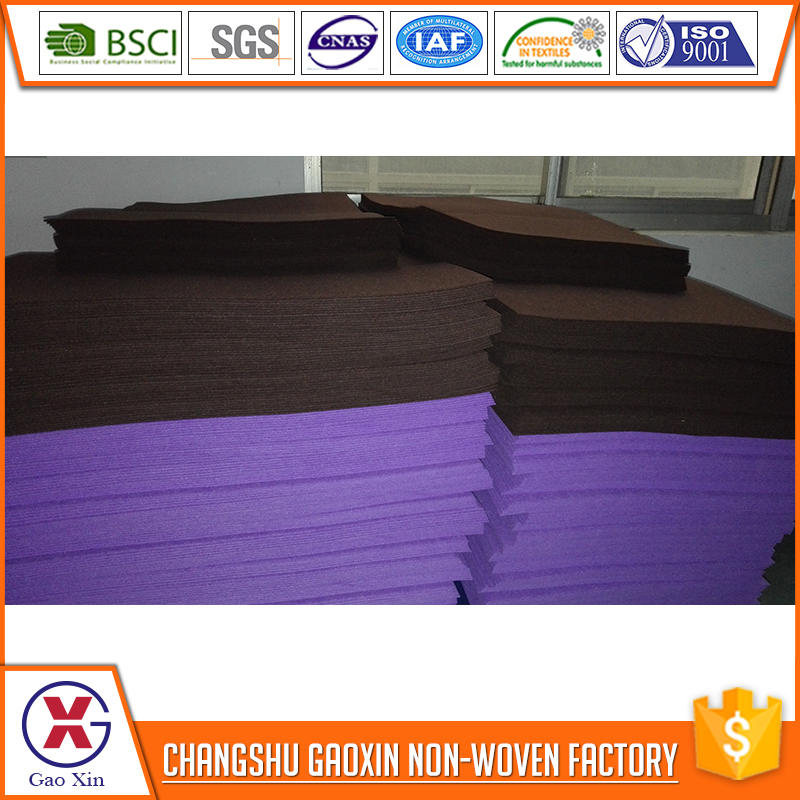 Top class China manufacturer 5mm thick 100% wool felt