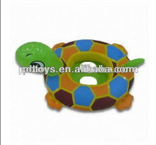 animal shape inflatable baby float swimming boat